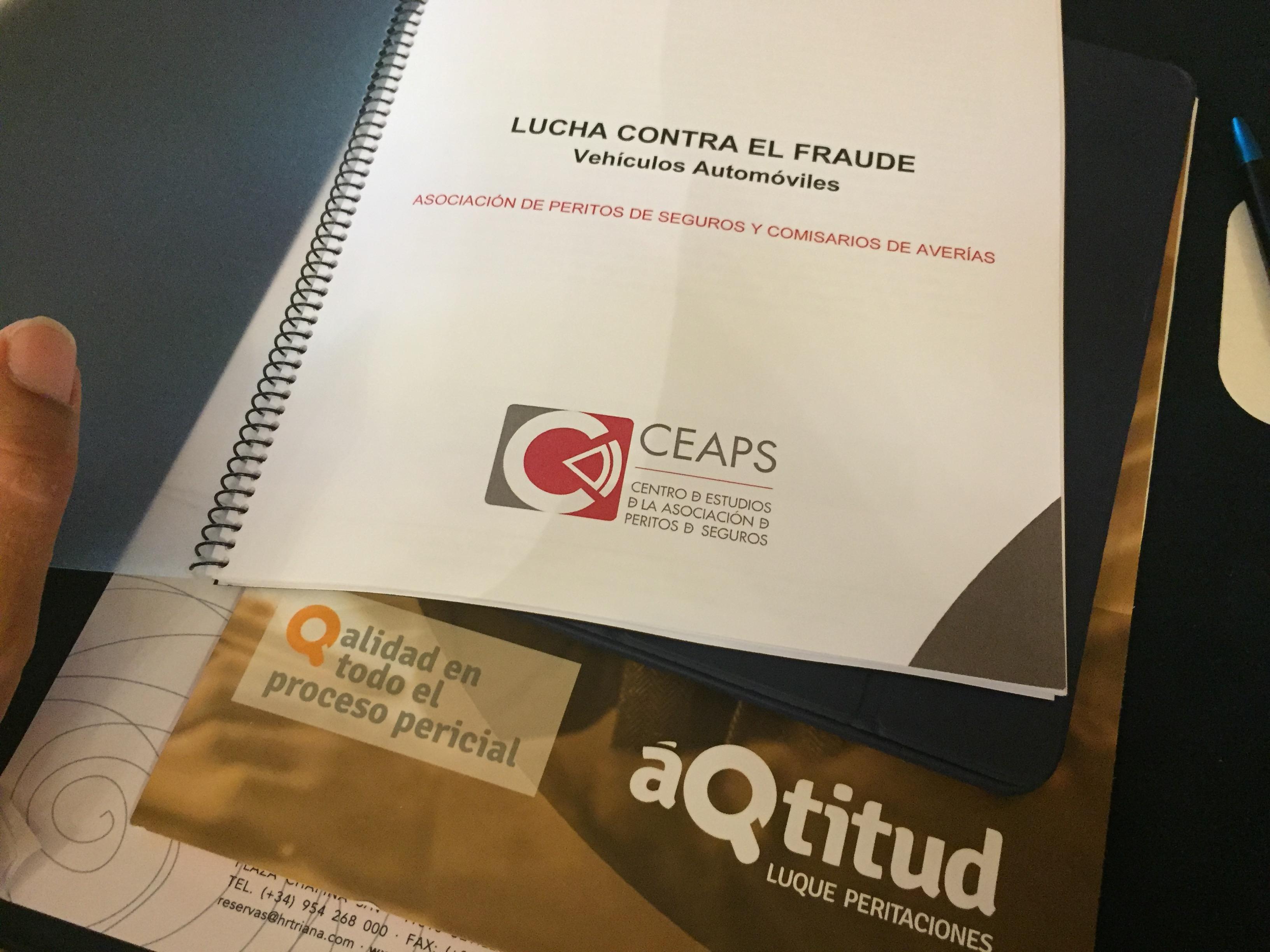 áQtitud Luque Peritaciones presente en el curso LUCHA CONTRA EL FRAUDE