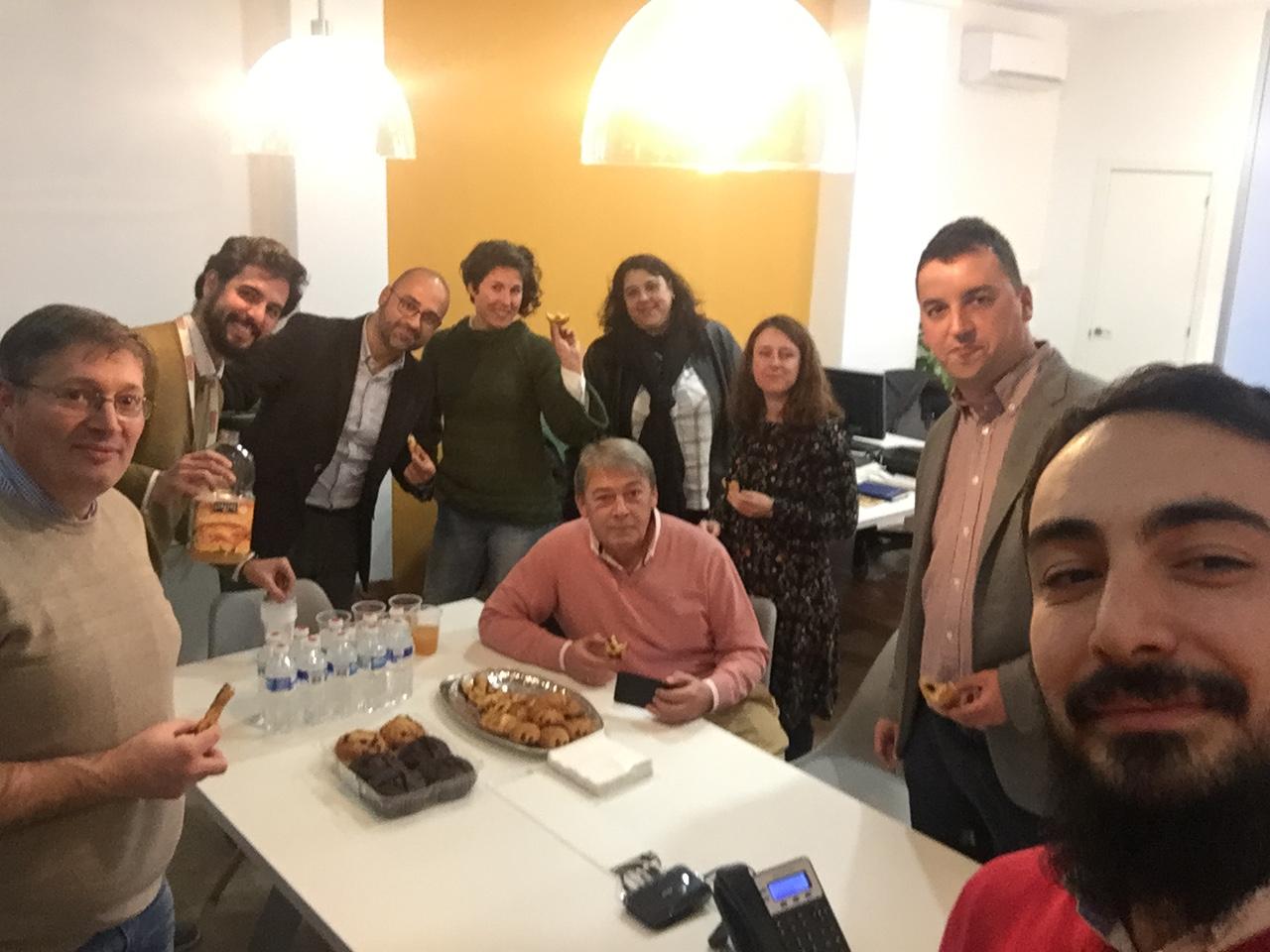 Primera reunión/merienda equipo áQtitud 2018