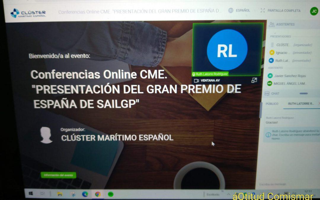 Nuestro partners COMISMAR  con el gran premio de España de SailGP